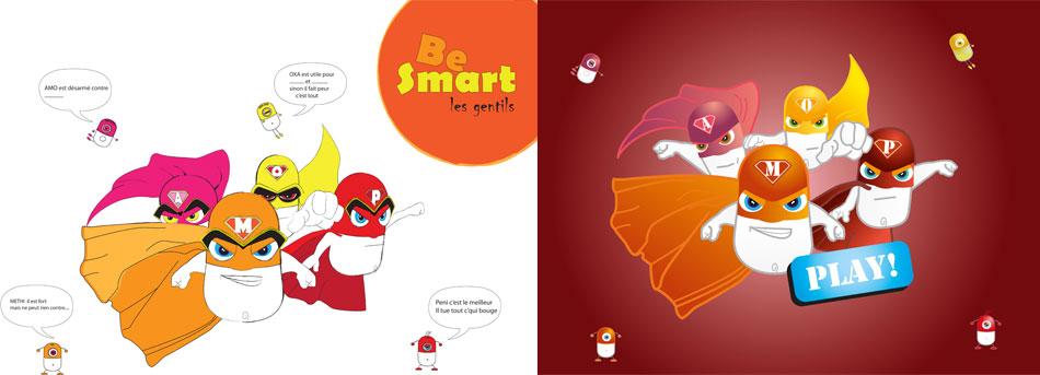 be-smart- jeux en ligne