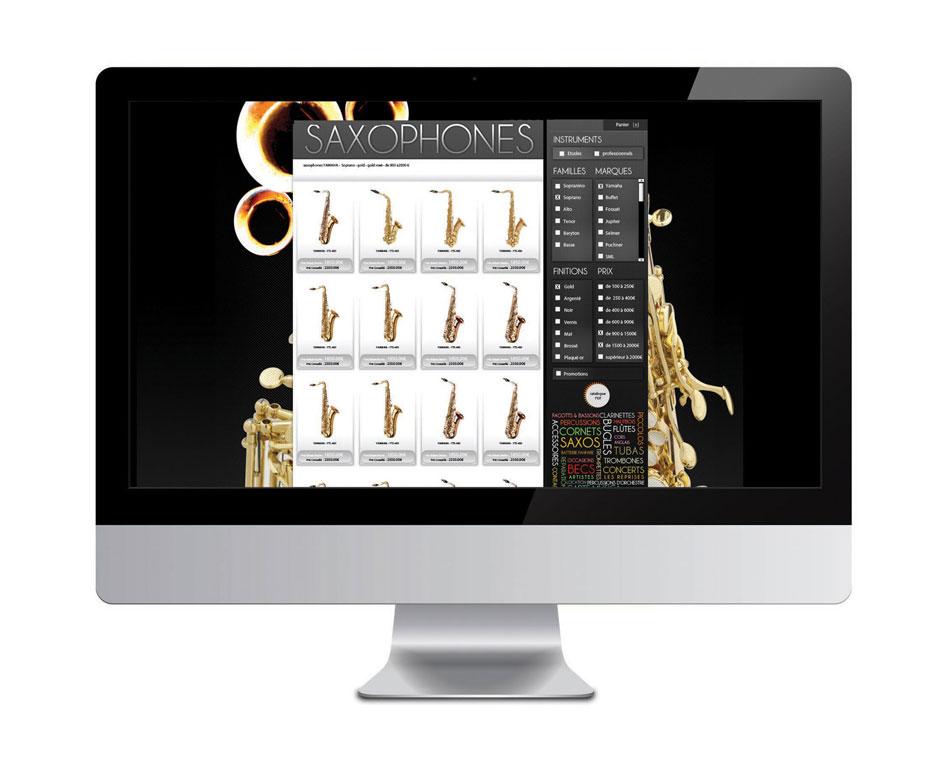 site web instruments